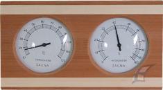 Teploměr + vlhkoměr do sauny - obdélník
