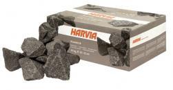 Saunové kameny HARVIA, vel. 10-15 cm, 20kg, šedé balení