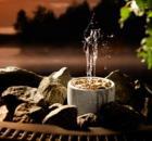 11012 - Odpařovač vody s vodotryskem - Saunatroikka
