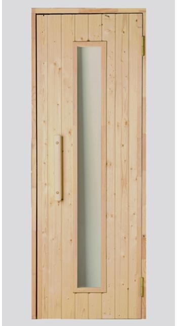 Saunové dveře dřevěné