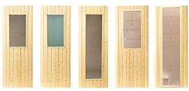 Okno do sauny